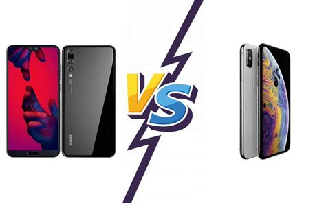 compare huawei p pro  apple iphone xs max dexblognet