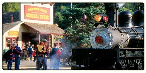 santa cruz holiday lights train roaring c railroads felton ca santa cruz county