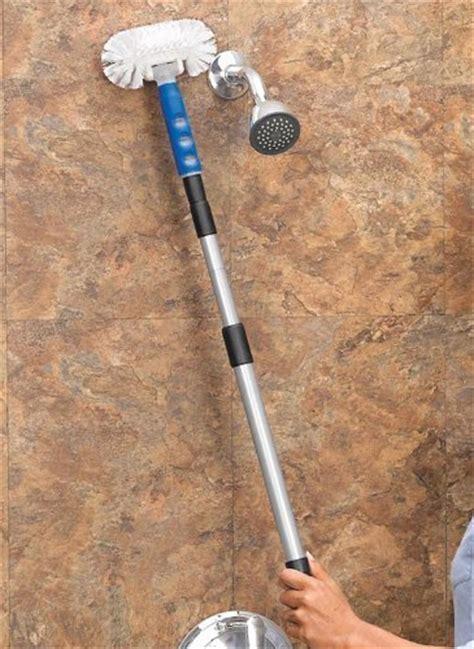 Swivel Switch For Brush Cleaner tub scrubber telescopic tile kimball swivel bath shower cleaner brush ebay
