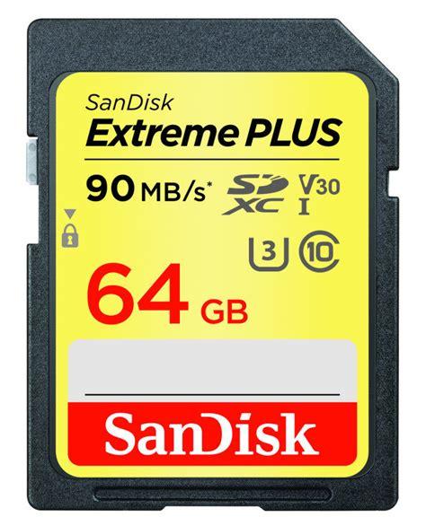 Sandisk Plus 64gb sandisk plus 64gb sdxc uhs 1 memory card ebuyer