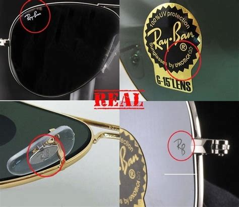 identify  originality  ray ban sunglasses quora