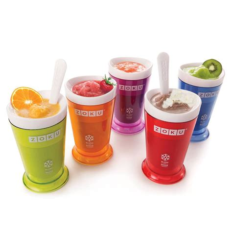 Freezer Mini Es Krim jual alat mesin pembuat es krim zoku mini slush and shake