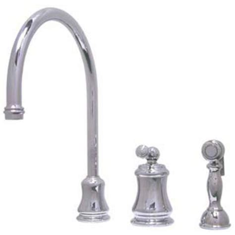 kitchen faucets restoration widespread kitchen faucet with brass sprayer by kingston brass