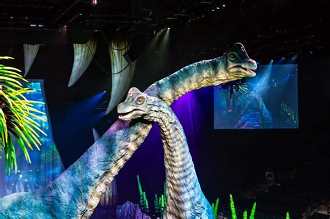Walking With Dinosaurs Honda Center by Walking With Dinosaurs Show Review For All