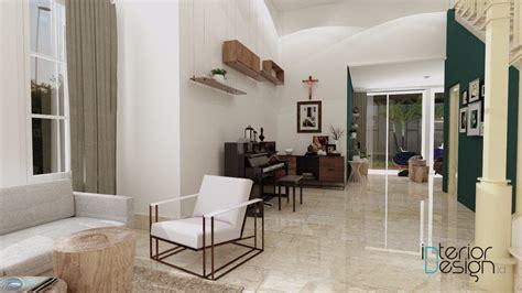 foyer rumah foyer sentul bogor interiordesign id