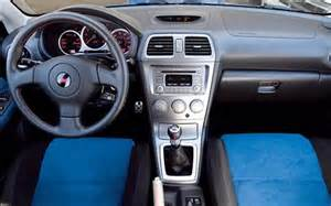 Subaru Sti Interior 2006 Subaru Impreza Wrx Sti Front Interior View Photo 4