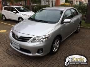 Toyota Corolla Usado Toyota Corolla Usado Semi Novo Em Porto Alegre S 243 Carr 227 O