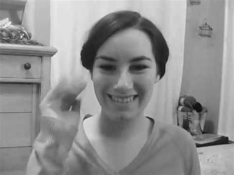 easy 1910 hairstyles american lady mary downton abbey inspired hairstyle youtube