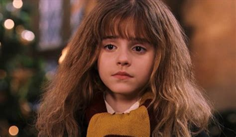 hermione granger in the 1st movoe what emma watson regrets about harry potter