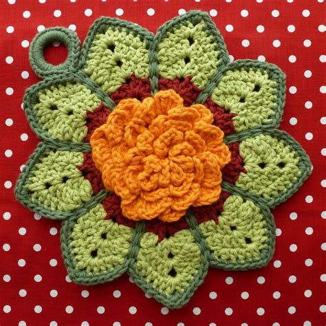 pattern for magic crochet pot holders 345 best crochet dishcloth and pot holder images on pinterest