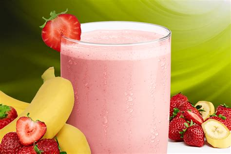 strawberry banana smoothie muscletech