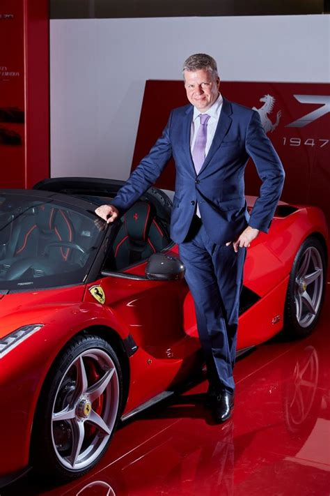 ferrari ceo mideast chief confirms ferrari won t roll out electric or