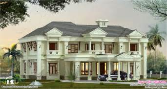 10 000 Square Foot House Plans Luxury Villa Elevation Design Kerala Home Design And