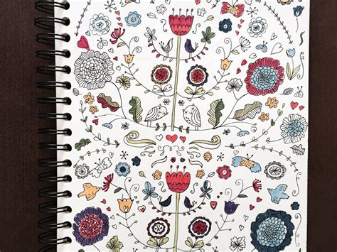 Muster Zeichnen Zeichnen Lernen 5 Einfache Doodle Prompts