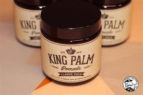 King Pomade X Hold king palm pomade pomade