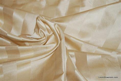 satin drapery fabric 558 stunning ecru vertical satin jacquard stripe silk