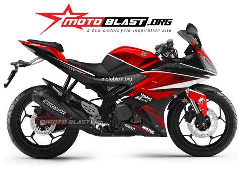 Spakbor Belakang Honda Sonic 125 New Rs moddif striping yamaha r15 terbaru motoblast spakbor