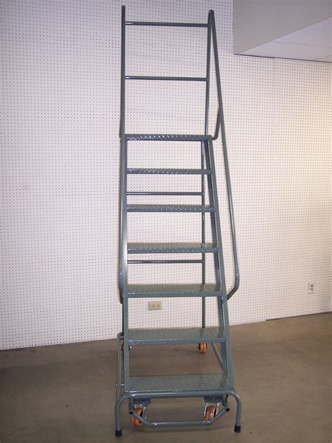 cases ladder steel stair cases and ladder all american rack company