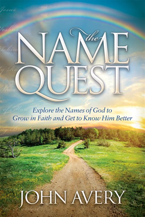 picture books about names the name quest paperback book names for god