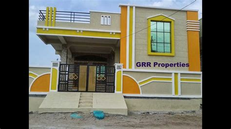 Home Design In 50 Yard Grr Properties Independent Houses And Open Lands In India