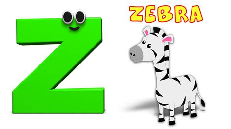 Zz A To Z phonics letter z the alphabet songs for toddlers abc