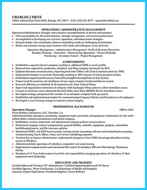 Resume Sles For Administrative Coordinator Impressive Professional Administrative Coordinator Resume