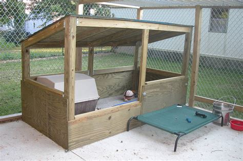 backyard dog kennel ideas the real apbt dog kennel setups and designs