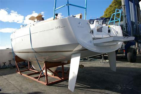 what is a swing keel sun odyssey 349 swing keel performance boating