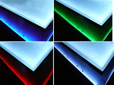 Countertop Lighting Led by How Are Glass Countertops Made Cgd Glass Countertops
