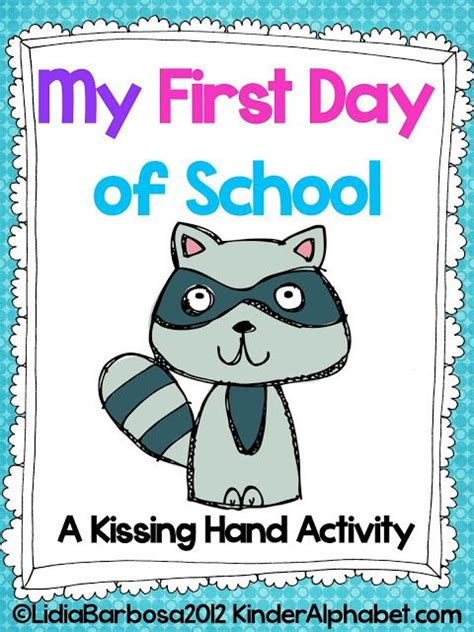 activities kindergarten first day 38 best images about preschool the kissing hand on