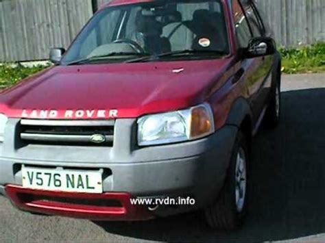 land rover freelander 1999 land rover freelander 1999 youtube