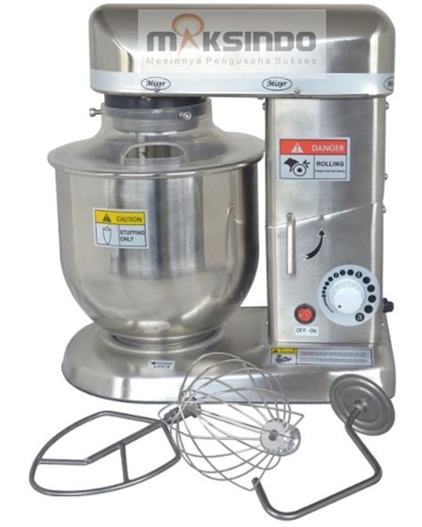 Mixer Jogja jual mesin mixer planetary 5 liter stainless ssp 5 di yogyakarta toko mesin maksindo