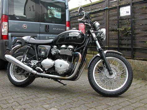 Triumph Motorrad Kassel details zum custom bike triumph thruxton des h 228 ndlers