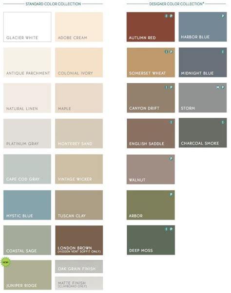 colors for house siding best 25 vinyl siding colors ideas on pinterest