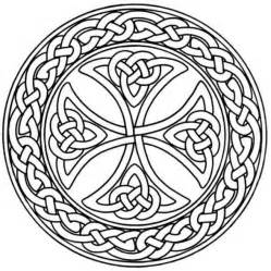 celtic coloring pages mandala monday free celtic mandalas to color
