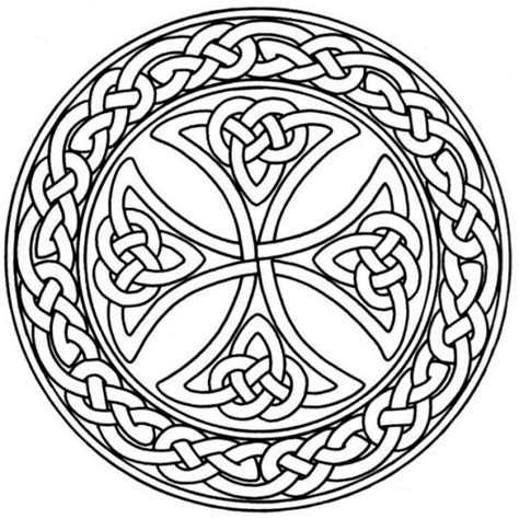 celtic mandala coloring pages free mandala monday free celtic mandalas to color