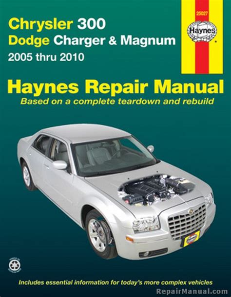 vehicle repair manual 2010 dodge journey free book repair manuals haynes chrysler 300 and dodge charger magnum 2005 2010 auto repair manual
