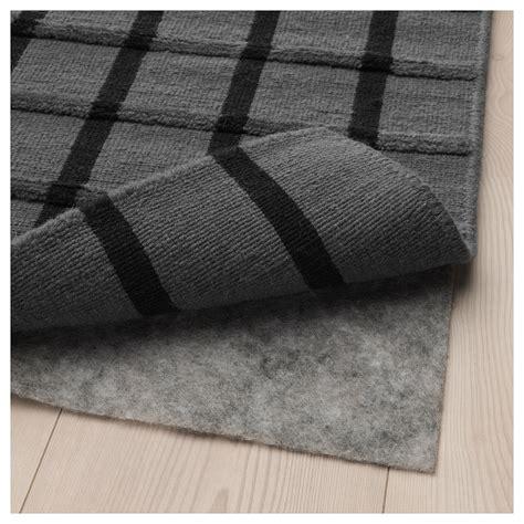 ikea black rug foulum rug flatwoven grey black 170x240 cm ikea