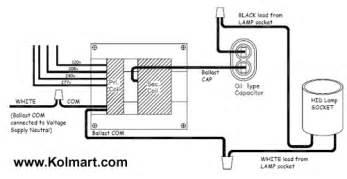 wiring diagram for 1000w metal halide ballast download