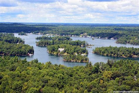 legend boats parry sound a bird s eye view from the 1000 islands skydeck tower