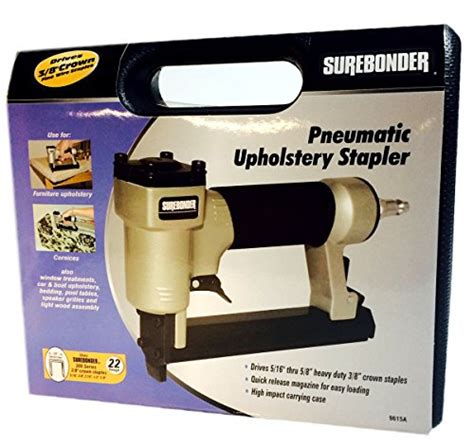 air compressor for upholstery staple gun surebonder 9615a 300 3a 22g pneumatic upholstery staple