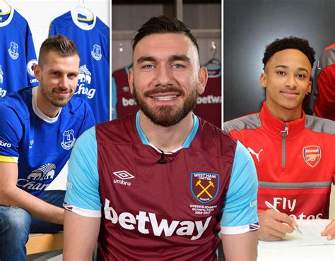 epl january transfer premier league done deals every transfer in during