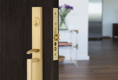 Adelaide and Brisbane Mortise Locks and Door Pull   Emtek