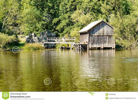 old boat house old boat house stock photography image 33496582