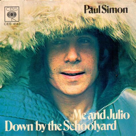 paul simon discogs paul simon me and julio down by the schoolyard vinyl