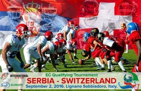livestream serbia faces switzerland in ifaf europe