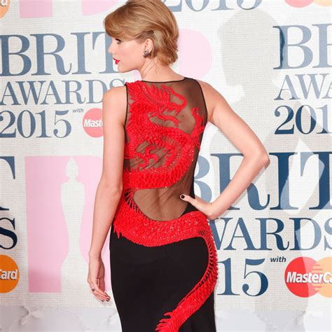 Cosmo Square Dress has worn the sexiest dress to the brit awards 2015