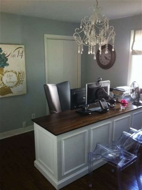 Home Office Chandelier Shabby Chic Home Office Office