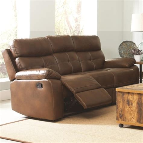 abbyson living bradford faux leather reclining sofa faux leather reclining sofa faux leather contour reclining