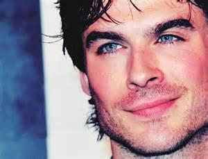ian somerhalder eye color blue boy damon salvatore handsome image
